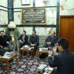 سفیر چین: به دنبال تحکیم روابط با آستانهای مقدس و نهادهای دینی عراق هستیم