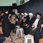 دیدار هیئت نمایندگی دفتر مرجع عالیقدر با شیوخ عشایر و شخصیت های اجتماعی شهر ناصریه عراق