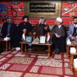 دیدار مسئولان مجموعه رسانهای امام حسین علیه السلام و موسسه مصباح الحسین، با شخصیتهای شهر مقدس کربلا
