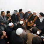 مرجعیت شیعه در دیدار طلاب علوم دینی از بغداد: خاندان عصمت و طهارت وسیله ما به درگاه خدای متعال هستند
