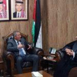 ملاقات نماینده دفتر مرجعیت شیعه در شهر مقدس نجف با سفیر کشور اردن در عراق