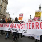 تظاهرات انگلیسیها علیه اسلام هراسی در لندن