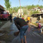نظافت خیابانهای هند به مناسبت نیمه شعبان