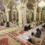 سفره افطار حرم امیرالمومنین علیه السلام برای بیش از ۱۰ هزار زائر روزه دار
