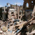 بمباران صنعا از سوی جنگندههای عربستان