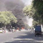 انفجار مقابل دانشگاه کابل