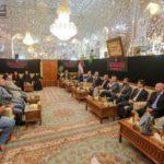 زیارت یک هیئت از دانشگاه های اروپایی از حرم مطهر امیرالمومنین امام علی علیه السلام