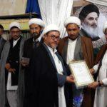 تجلیل از اساتید حوزه های علمیه شهر کابل از سوی دفتر آیت الله العظمی شیرازی