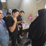 خدمات پزشکی رایگان ۱۳۰ پزشک از سراسر دنیا به زائران اربعین حسینی