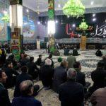 اجتماع عظیم عزاداران نبوی کشور ایران در مسجد امام زین العابدین علیه السلام شهر مقدس قم